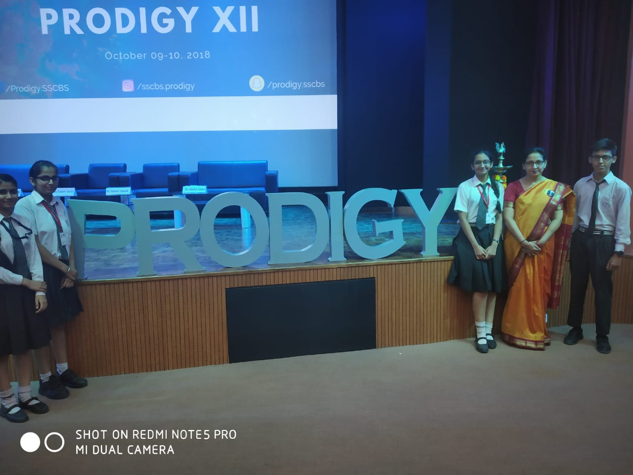 GOOD PERFORMERS IN PRODIGY XII COMPETITION AT SHAHEED SUKHDEV COLLEGE OF BUSINESS STUDIES