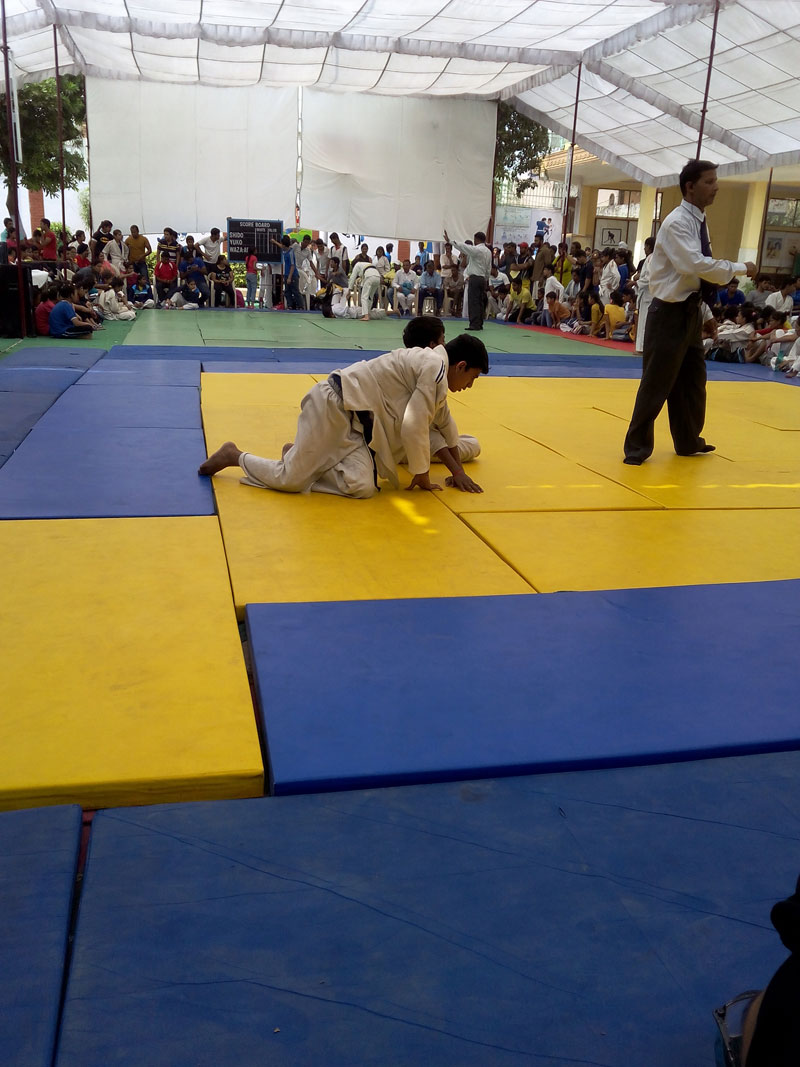 CBSE NORTH ZONE-I JUDO TOURNAMENT FROM 02-10-2014 TO 02-10-2014
