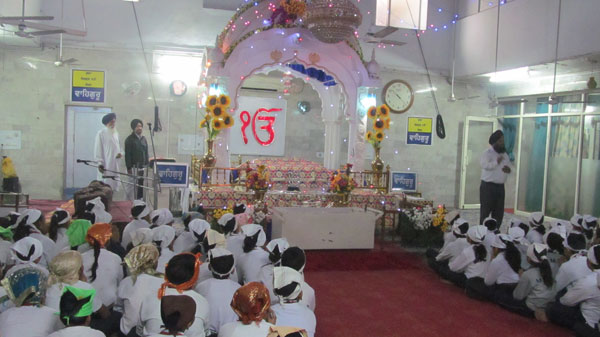 A BLISSFUL VISIT TO GURUDWARA