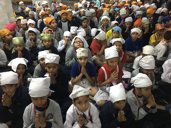 Visit to Gurudwara by Primary students