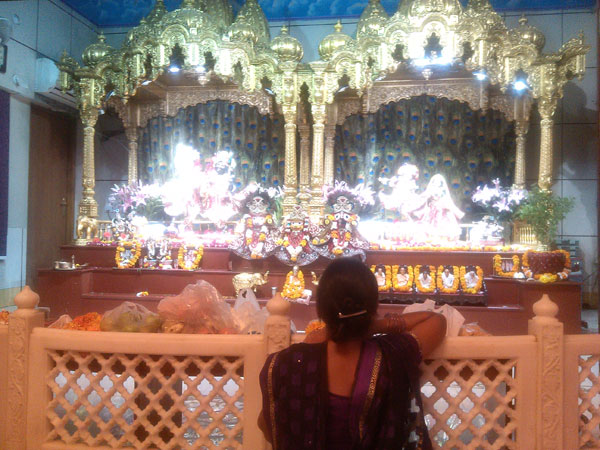 Visit to Iskcon Temple
