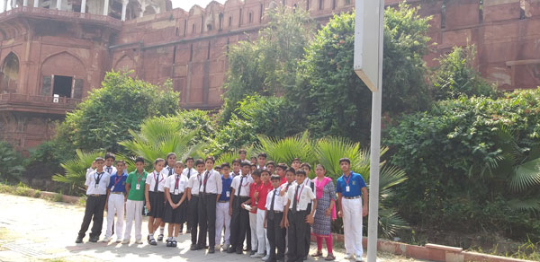 An Educational trip to Jama Masjid and Red Fort