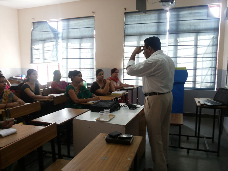 TEACHERS WORKSHOP ON COMMUNICATION SKILLS ON 26-07-2014