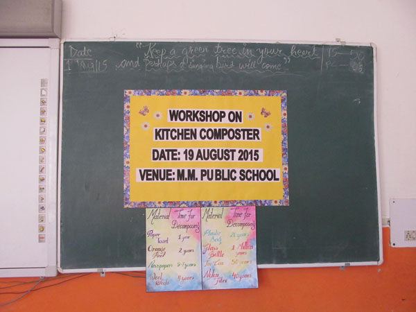 WORKSHOP ON KITCHEN COMPOSTER