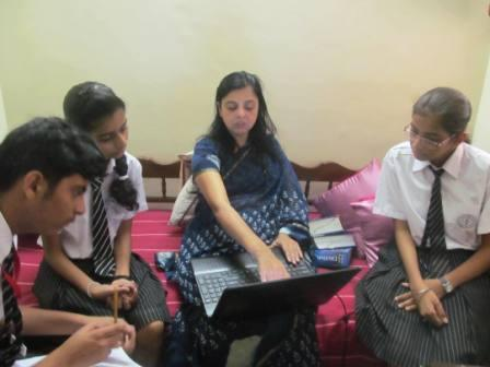 Interaction with Mrs. Kiran Mishra (Sr. English Broadcaster in AIR)
