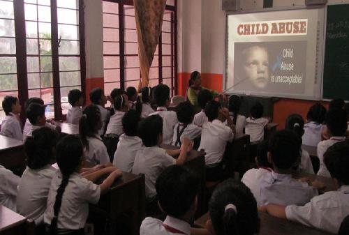 WORKSHOP ON CHILD ABUSE,GENDER SENSITIVITY AND BULLYING