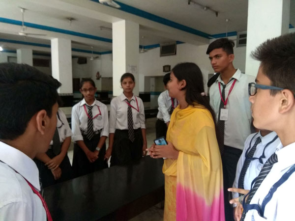 A Visit to Blind School by SWAS Club