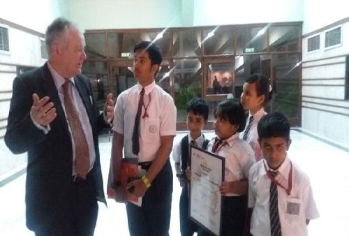 Interaction with Mr. John Kerr (the Chief Executive of Cambridge