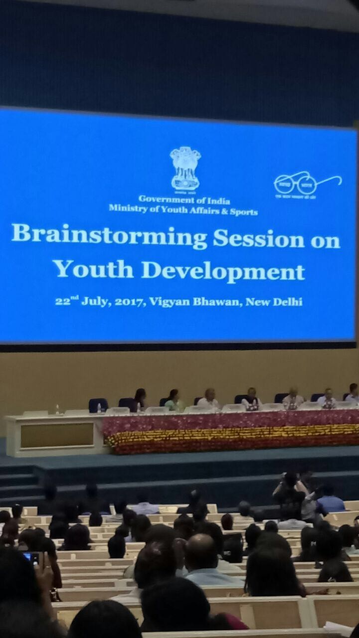 Brain storming session for Youth Development