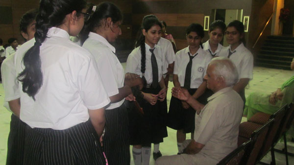 A Visit to Old Age Home by SWAS Club