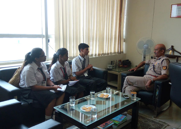 An Interaction with Mr. Shrikant Kishore (D.I.G., Indira Gandhi International Airport)