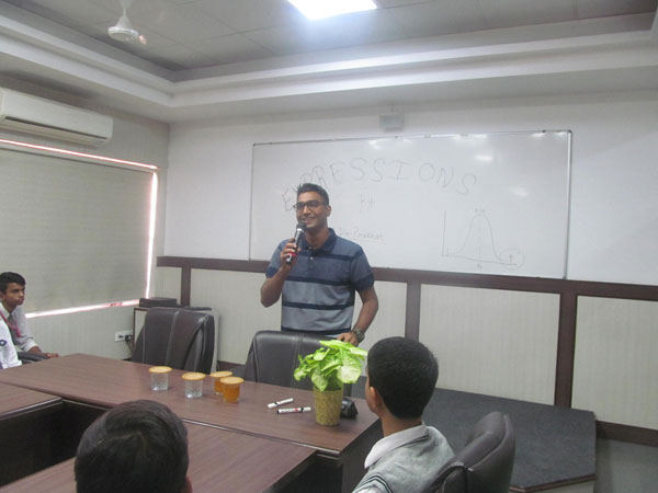 Expressions by Lieutenant Dr. Prabhat Kumar (Alumni)