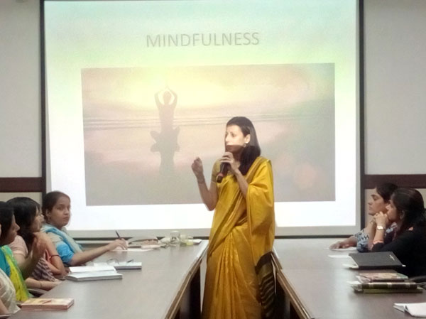 Teacher's workshop on mindfulness