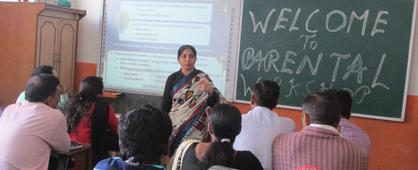 A SCHOOL'S EFFORT TO AWAKEN PARENTS