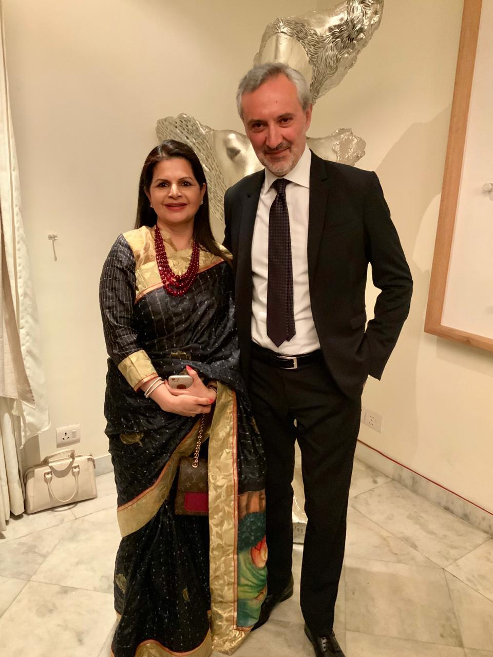 Rendezvous Interaction with Ambassador of Italy