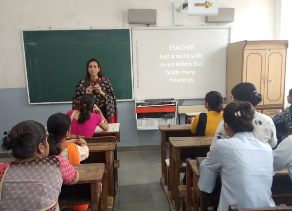 Workshop on Value of Moral Values, Ethics and Spirituality in Education