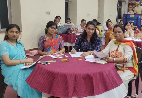 Capacity building program on Revised English by CBSE