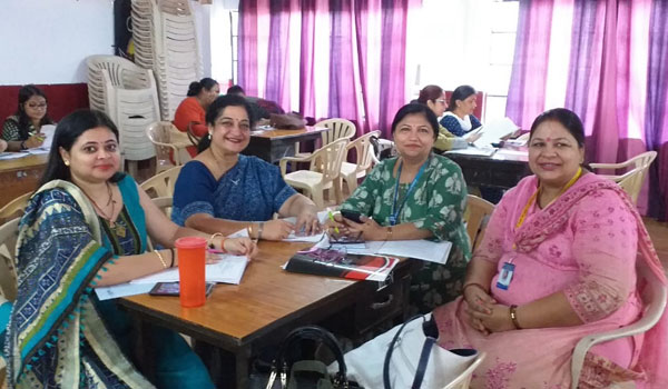 Capacity building program on Social Science by CBSE