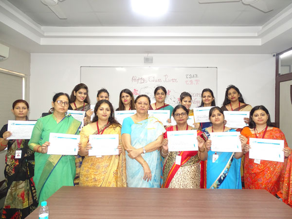 Happy Classroom Workshop Capacity Building Programme by CBSE