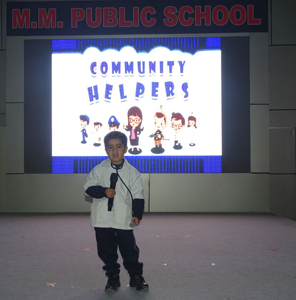 MY PERFORMANCE- COMMUNITY HELPERS