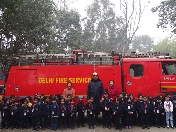 EXCURSION TO FIRE STATION