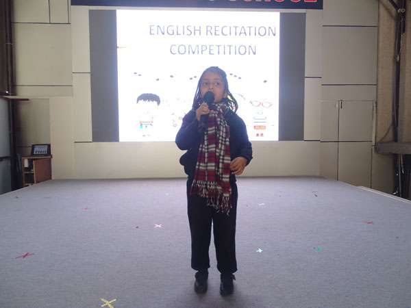 English Recitation Competition