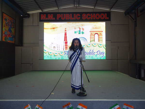 Republic Day Celebration by Tiny Tots